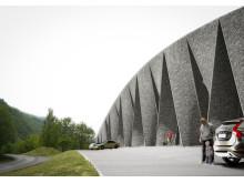 Tourist stop Djupevik, Hardanger. Huus og Heim Arkitektur.