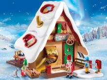 Macht Backen kinderleicht: Die PLAYMOBIL Weihnachtsbäckerei mit Plätzchenformen (9493)