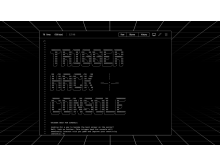 Trigger hack console