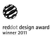 Exxact vinner red dot design award