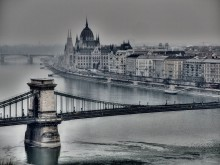Adagio: Cities on the Danube -  Budapest in Winter