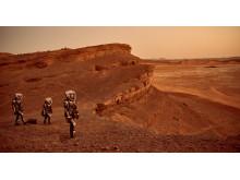 MARS crew exploring