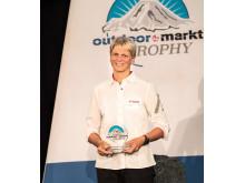 """Simone Mayer, Sprecherin der Geschäftsleitung von Maier Sports, ist """"Outdoor-Persönlichkeit des Jahres 2018"""""""