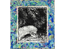 "Pierre Alechinsky: ""Retrovision prémonitoire"" (1984)"