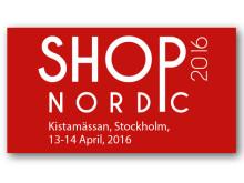 Q-channel deltar på mässan Shop Nordic 2016 i Kista den 13-14 april. Monter D:09