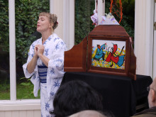 Stjärnfestival Tanabata 7 juli i Botaniska Ami Skånberg Dahlstedt