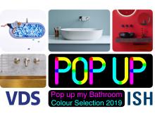 Colour Selection 2019 - Pop up my Bathroom