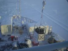 Forskare på den Kanadensiska isbrytaren CSGS Amundsen