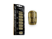 Color Riche Nail Stickers 08 Or Lamé
