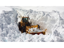 Snow clearing, photo Statkraft