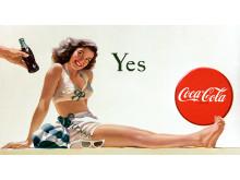 Haddon Sunblomin  Yes Girl -juliste vuodelta 1946