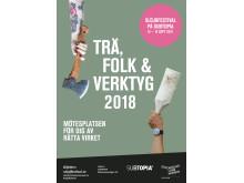 Trä, folk och verktyg 2018