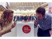 Marking just under one hundred weeks until Virgin Azuma comes into service, Virgin Trains displays miniature sculptures of iconic trains at the world's smallest train exhibition taking place today, Monday 3 October, at King's Cross station