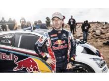 Nye rekordhållaren Sébastien Loeb körde Peugeot 208 T16
