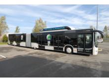 Med sine 18,75 m er der plads til hele 142 passagerer, hvilket gør MAN Lion's City GL CNG perfekt til kørsel på ruter med mange passagerer