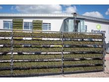 CityLam Modul am EuroLam-Verwaltungsgebäude in Wiegendorf