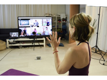 Online yoga, live and interactive!