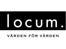 Locums logotyp; svart i eps-format