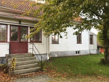 Lindbergs prästgård, oktober 2017.
