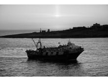 Båtflyktingar från Libyen