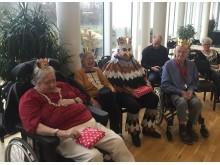 Årets kattekonger og kattedronninger på Langagergård Plejecenter