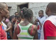 Informationsspridning om ebola i Liberia