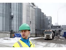 Martin Engström, affärsutvecklare på Lantmännen Agroetanol