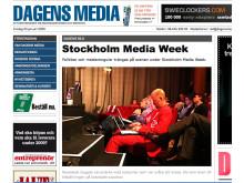 Två röda kostymer på MediaWeek 2008