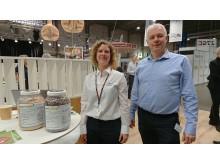 Ina Karlshøj Julegaard og Arne Ringsing
