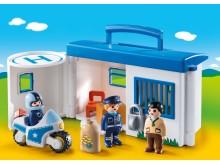 Meine Mitnehm-Polizeistation von PLAYMOBIL 1.2.3 ist immer dabei