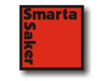 SmartaSakers logga med skugga