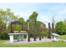 PEACEFUL HAVEN: Work to create a special area where the bereaved can remember their loved ones has been completed at Heywood Cemetery