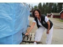 Marie Lindqvist Holmlund, Skellefteå camping