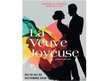 "Opera Mauritius: Plakat ""Die lustige Witwe"""