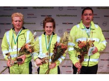 Pristagarna på kvaltävlingen till Yrkes-SM i Eskilstuna