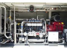 AgriKomp Biogasanlage mit 13-Liter-Motor von Scania