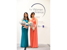 Two women scientists, Dr. Guo Huili and Associate Professor Ho Ghim Wei, have been named the 2014 L'Oréal Singapore For Women In Science National Fellows. Each receives a grant of S$30,000.