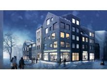 Markförsäljningstävling Väsjön Sollentuna, Kontur arkitektkontor