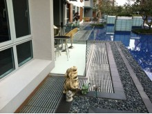 Completed Decking Project by Evorich ~ Accoya© Decking @ Ferraria Park Condominium
