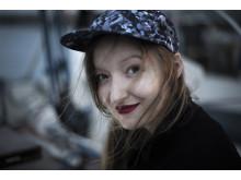 Anna Soley Tryggvadottir får SKAP:s Scenmusik-pris. Foto:  Chrisander Brun