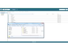 BIMcontact Desketop drive synkroniserer alle dine filer mellom lokale mapper og skyen.