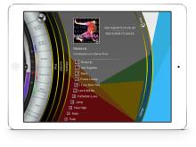 Creation 5 iPad App - Music menu