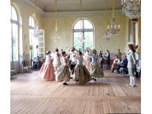 Barockfestens dans, en uppvisning med dansgruppen Pied en l'air
