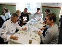 Juryn för Matverk i Bohuslän i arbete