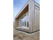 Das biologische Haus mit Kebony Fassade