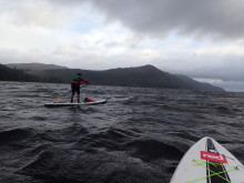 Hi-res image - Ocean  Signal - Maria Sawyer pictured in Loch Ness during the Great Glen Challenge