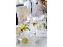 Ekologiskt bröllop_duka med citroner_Elin Olsson