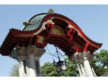 Tiergarten, Elefantentor, Eingang zum Zoologischen Garten