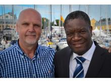Berthil Åkerlund och Dr Denis Mukwege