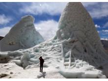 Konstgjord glaciär ska lösa vattenbrist i norra Indien och är ett samarbete mellan forskare i Indien och Luleå tekniska universitet,